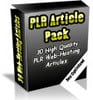 Thumbnail 30 High Quality Webhosting PLR Articles.zip