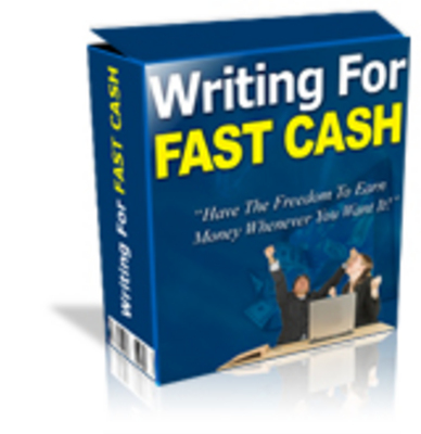 Product picture Writing For Cash