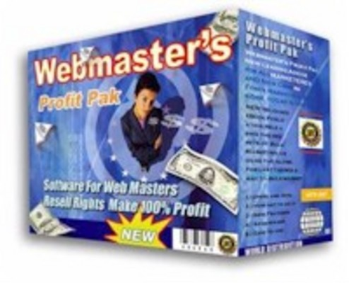 Product picture Webmasters Profit Pak Software Business Package