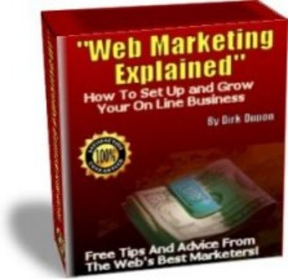 Product picture Web Marketing Explained Real People Explain their Success
