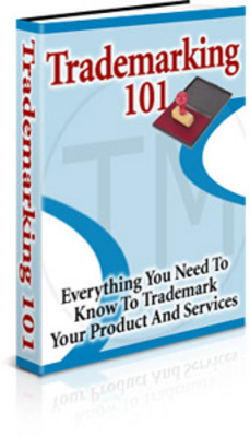 Product picture Trademarking 101 Manual
