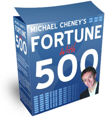 Product picture michael Cheneys Fortune With 500 W/MRR
