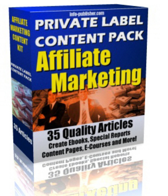 Product picture 35 Affiliate Marketing PLR Article Pack